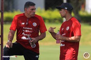 Luis Fernando Suarez primer entrenamiento Sele Mayor junio 2021