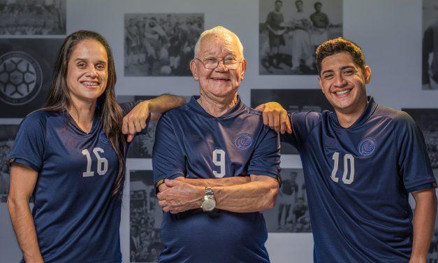 ¡Historia en la piel! New Balance lanza camisa alusiva al Centenario de la Fedefútbol