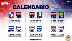 Calendario eliminatoria mundialista agosto 2021
