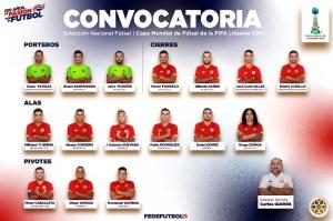 Convocatoria Futsal