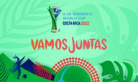 """""""Vamos juntas"""": emblema y slogan a un año del Mundial Femenino Sub-20"""