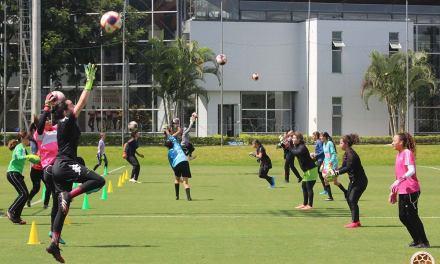 Exitosa visoria de porteras para la Selección infantil