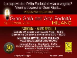 Testimonial Gran Galà Milano 2014