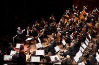 Roma, Auditorium Parco della Musica 25 10 2014. Inaugurazione Stagione di Musica Sinfonica.  Orchestra, Coro e Voci Bianche dell'Accademia Nazionale di Santa Cecilia Antonio Pappano direttore Evgeny Kissin pianoforte Deyan Vatchkov basso Ciro Visco maestro del coro  ©Musacchio & Ianniello ******************************************************* NB la presente foto puo' essere utilizzata esclusivamente per l'avvenimento in oggetto o  per pubblicazioni riguardanti l'Accademia Nazionale di Santa Cecilia *******************************************************