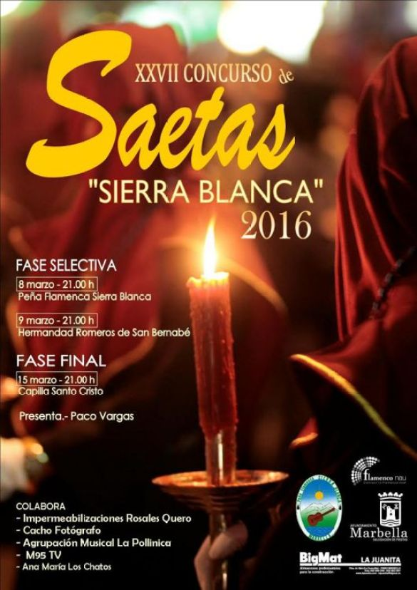 Concurso de Saetas de la P.F. Sierra Blanca
