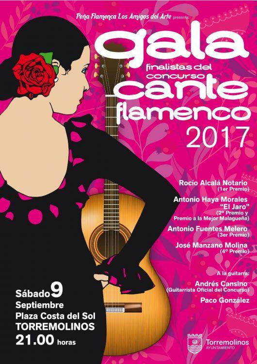 Gala de Cante Flamenco 2017 de TORREMOLINOS