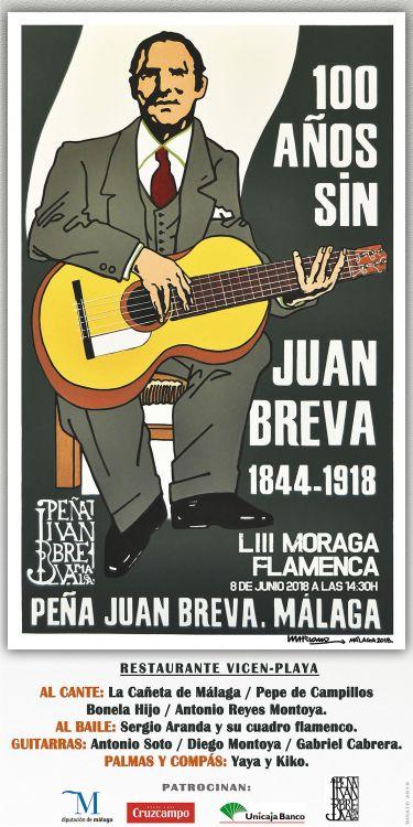 LIII MORAGA FLAMENCA PEÑA JUAN BREVA