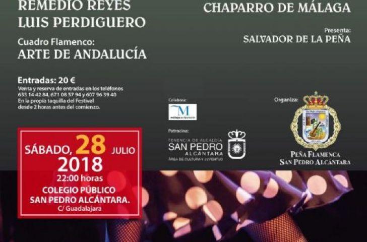 XXXVI FESTIVAL DE CANTE FLAMENCO SAN PEDRO ALCÁNTARA