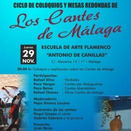 Presentación Centro de Estudios de Flamenco de la Federación de Málaga 29-11-18