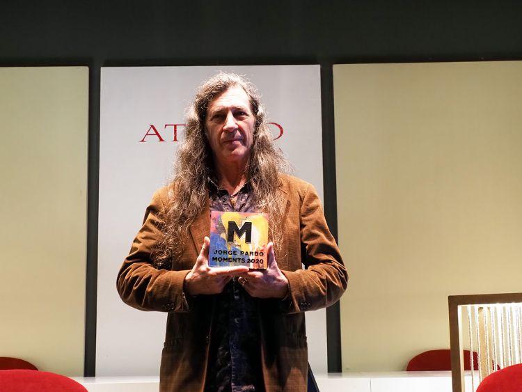 Jorge Pardo Premio Moments 2020 en Málaga