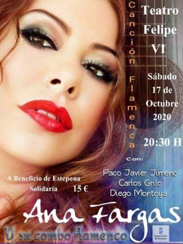 Ana Fargas y su combo presentan «Canción Flamenca»