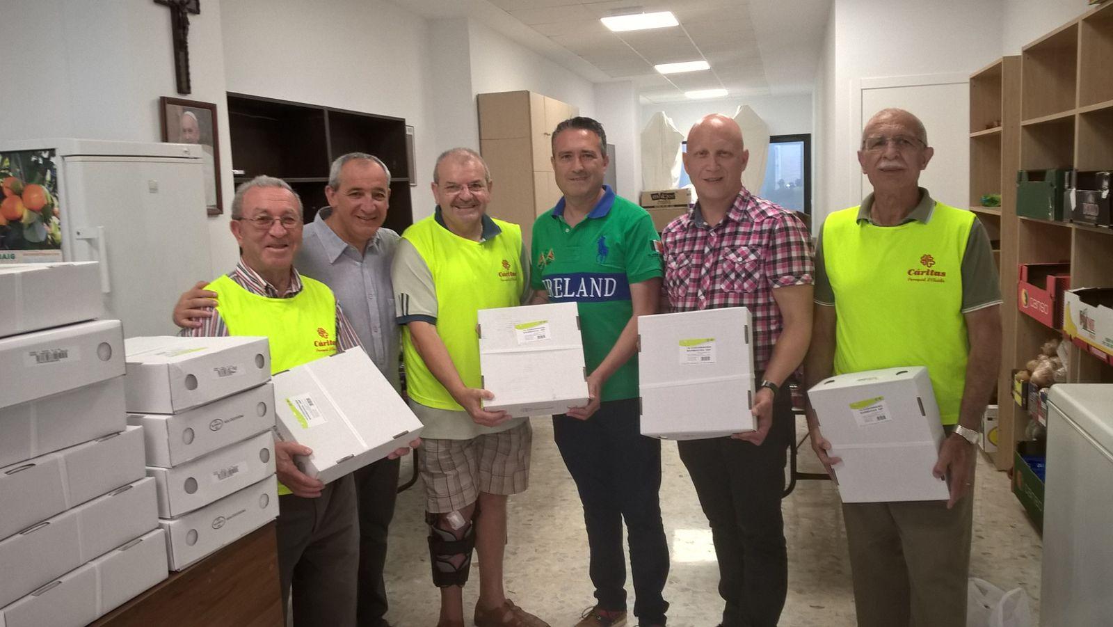 Nueva donación a comedores sociales de la Federación de Caza de la ...