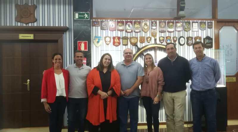Encuentro entre la Federación Insular y el RCNGC
