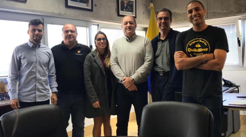 Nueva reunión con vistas al Centro Insular de Deportes Náuticos
