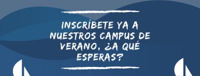 Banner inscripcion campus de verano