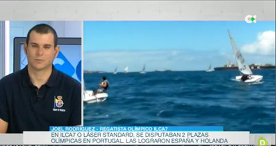 ENTREVISTA en RTVC – Joel Rodríguez, regatista olímpico en ILCA 7