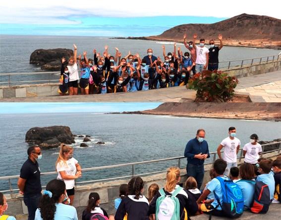 El proyecto 'Es tu Mar' promueve el conocimiento de la bahía de El Confital entre 800 escolares de Primaria.