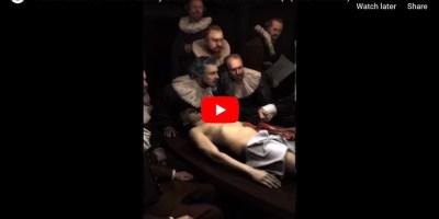 Rembrandt La lezione di anatomia del dottor Tulp
