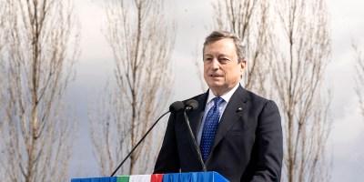 premier Draghi bergamo