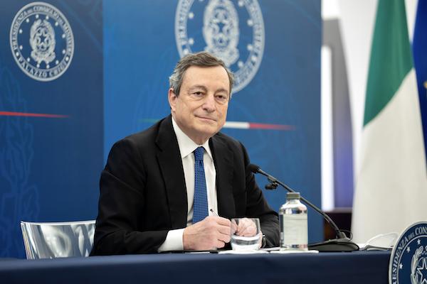 presidente Draghi conferenza stampa 26.03.2021