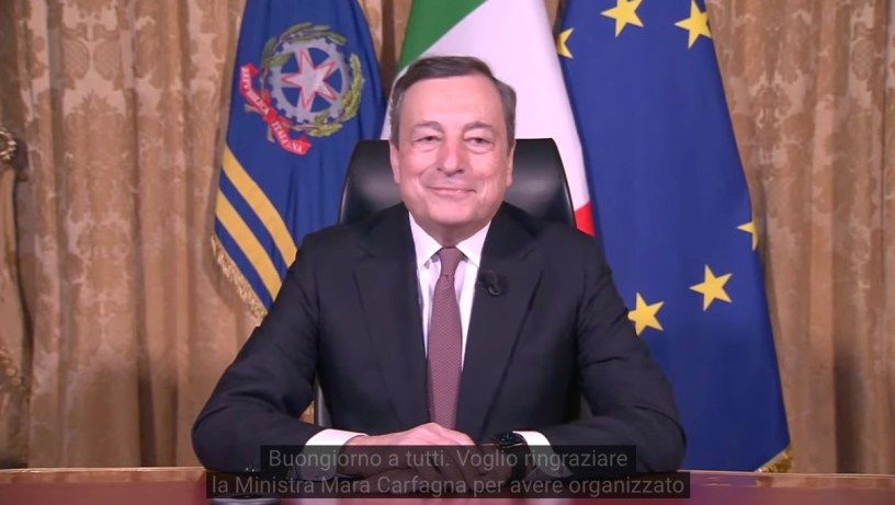 presidente Draghi
