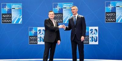 Draghi-Stoltenberg-Nato