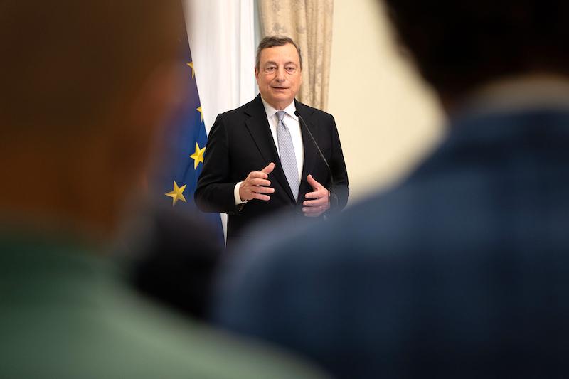 Saluto-premier-Draghi-incontro-informale-06.08.2021