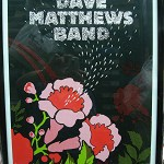 DAVE MATTHEWS BAND – HERSHEY PARK STADIUM -JUNE 25, 2005 FRAMED