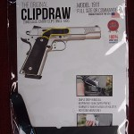 THE ORIGINAL CLIPDRAW – MODEL 1911 FULL SIZE OR COMMANDER -NEW IN PKG.-FREE SHIP