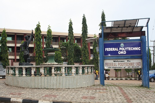 FEDPOLY OKO Important Notice to Matriculating Students 2016/2017