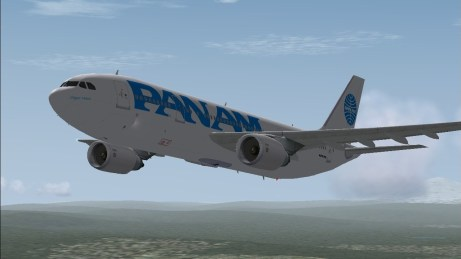 In flight in FS9