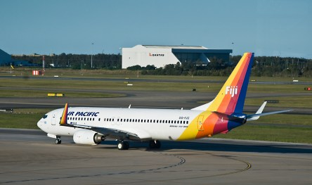 Real 737 in Brisbane