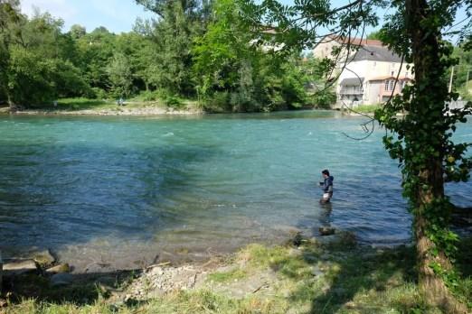 Le gave d'Oloron (pool Masseys) ce week-end