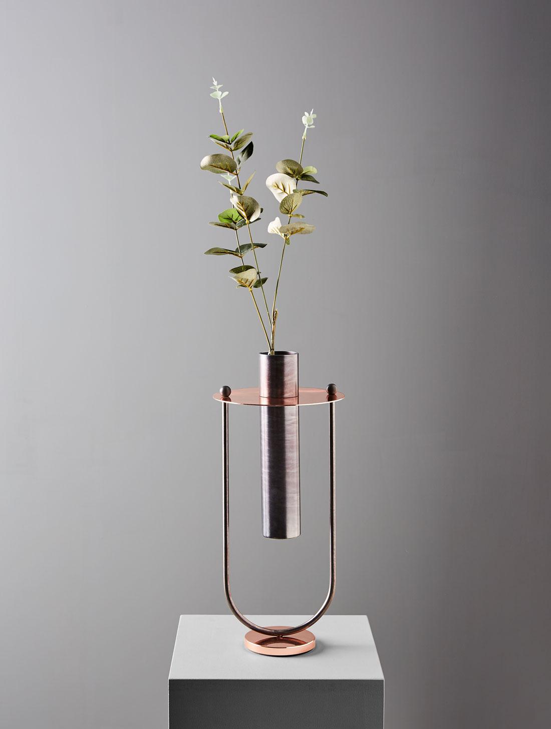 Vase_product design_Federica Biasi_Brass