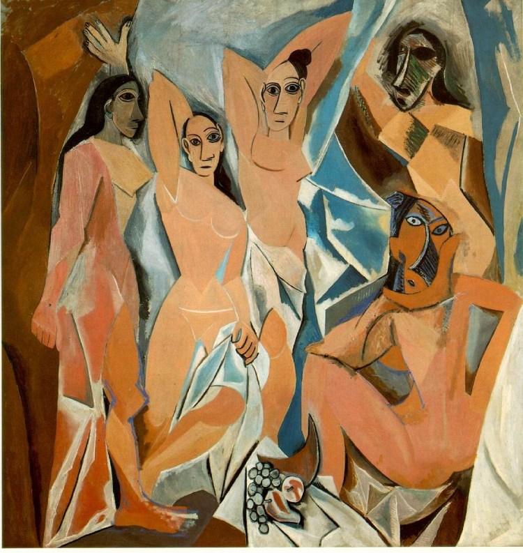 Il pARTicolare. Les Demoiselles d'Avignon di Pablo Picasso