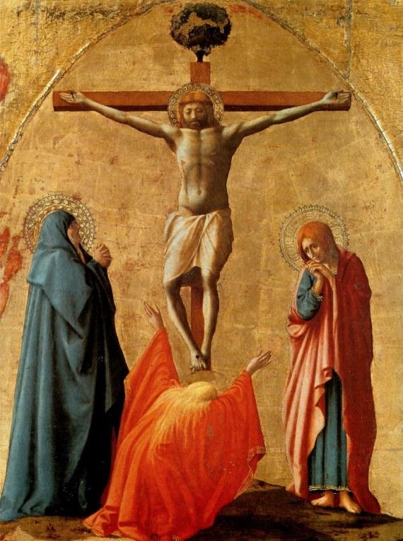 Il pARTicolare. La Maddalena nella Crocifissione del Masaccio