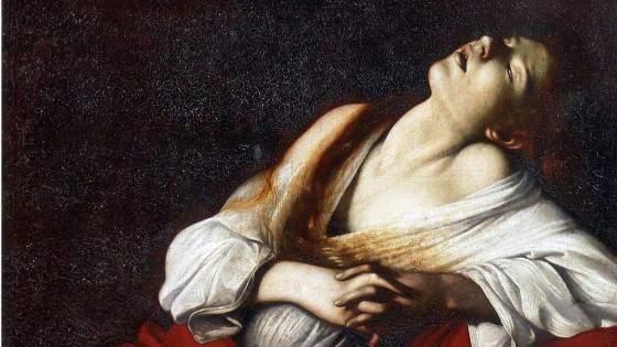 Il pARTIcolare. La Maddalena in estasi del Caravaggio