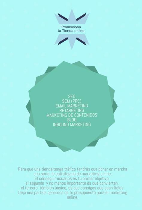 Promociona tu  e-commerce