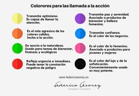 Color en la llamada a la acción