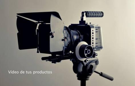 Video de productos en la página de producto