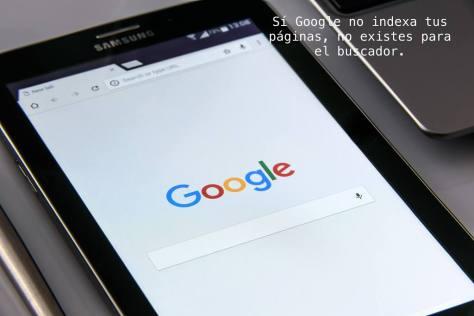 Indexación de páginas en Google