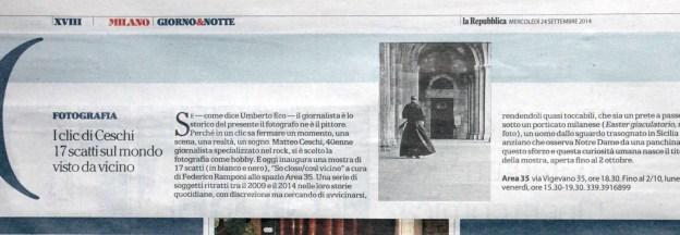 Luigi Bolognini-La Repubblica, September 24, 2014