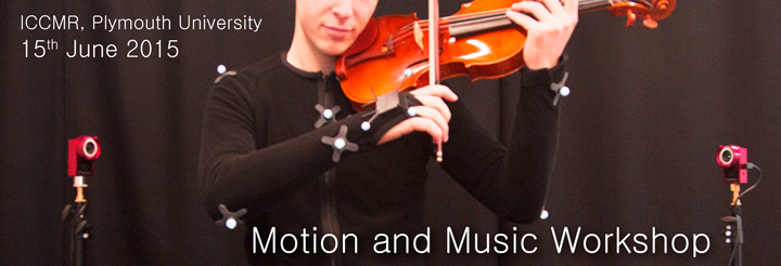 Motion and Music Workshop at CMMR15