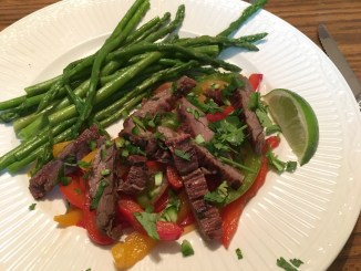 delicious marinated skirt steak