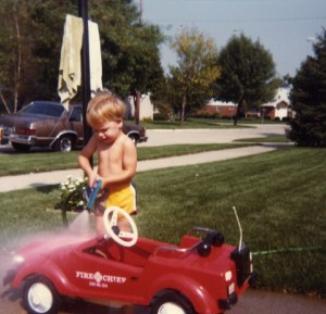 Rob's first car 1981