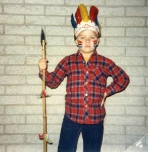School Halloween 1985
