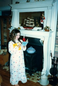 Clare - Christmas 1986
