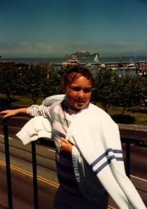 Clare at Disney 1988
