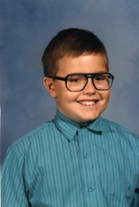 Rob 4th grade school picture 1988