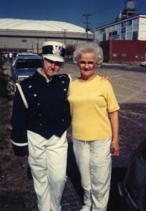 Clare and Grandma Band 1992